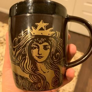 2012 Starbucks Gold Mermaid Mug